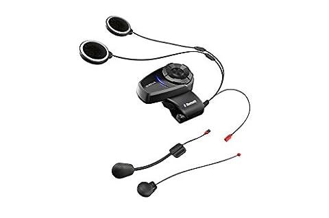 Sena 10S-01 Bluetooth Communication System, Black