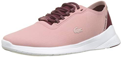 Lacoste sport lt fit 318 3 spw, sneaker donna, rosa (pnk/burg blanc 3t9), 38 eu