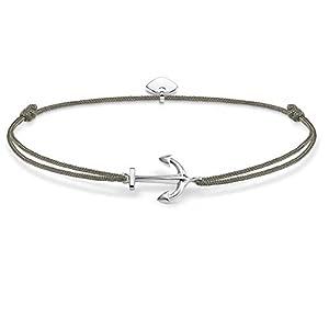 THOMAS SABO Damen-Armband Little Secret Anker 925 Sterling Silber LS001-173-5-L20v