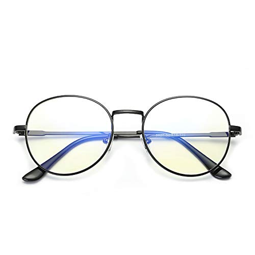 PC-Brille UV-Cut eckige Brille Unisex Blaulicht-Sonnenbrille für Brillen Brille (Color : Schwarz, Size : Kostenlos)