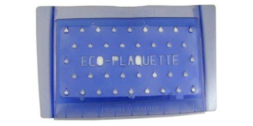 Bricoperl WC ECO 3 Wasserspar-Platte für WC, weiches Polymer, Blau