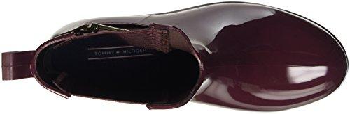 Tommy Hilfiger O1285xley 7r, Baskets Hautes Femme Marron - Marrone (Decadent Chocolate (214))