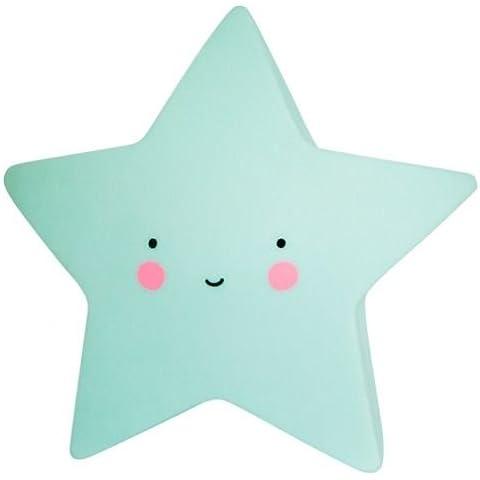 A Little Lovely Company ltsm031luce stella Starlight, in menta piccolo