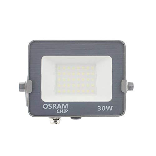 COUSON Foco Proyector LED 30W Exterior OSRAM Chips Luz Neutra 4000K IP65...