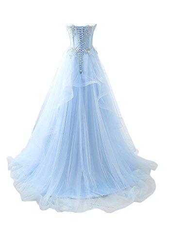 ivyd ressing Donna Roman tavolo a forma di cuore pizzo abiti da sera lungo abito da sposa vestiti da ballo Orange