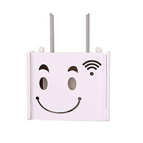 RETYLY Router WiFi Inalámbrico Caja Almacenamiento