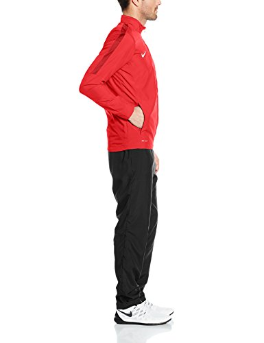 Nike Herren Academy 16 Knit Tracksuit Trainingsanzug Rot Rot/Schwarz