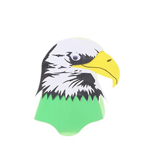 Stirnbänder Hüte Kostüm Tier - Amosfun Kids Eagle Stirnband Kostüm Tier Hut für Kids Animal Party Kostüm Cosplay Zubehör Kids Performance Prop