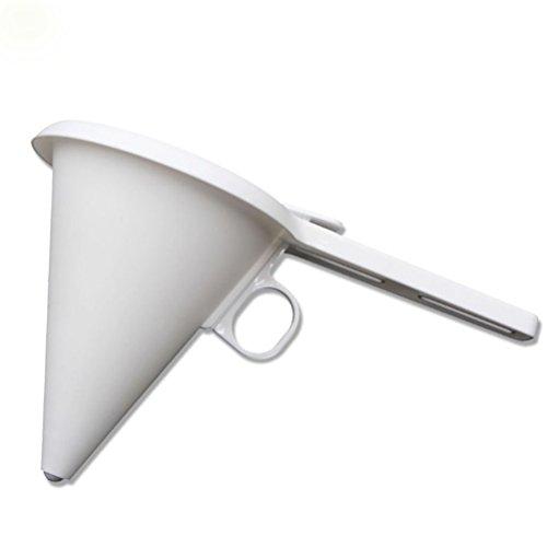 BESTONZON Dispensador de embudo de magdalena para hornear, Dispensador de masa, para cocinar herramientas de decoración de pasteles