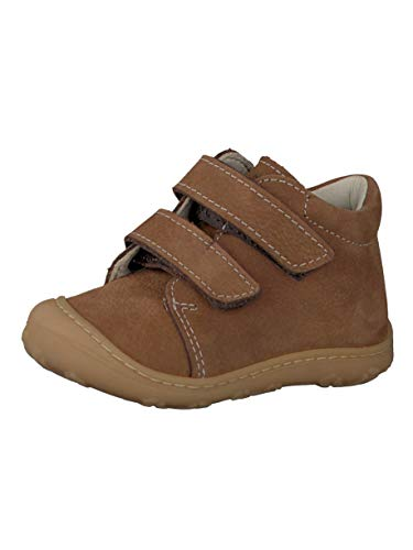 RICOSTA Pepino by Unisex - Kinder Stiefel Chrisy, WMS: Mittel, Boots Klettstiefel Leder Kind-er Kids junior Kleinkind-er toben,Curry,22 EU / 5.5 UK -