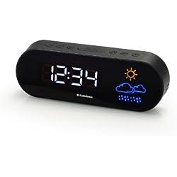 Radio-réveil Smartwares CL-1489 - Double alarme - Radio FM - Affichage météo