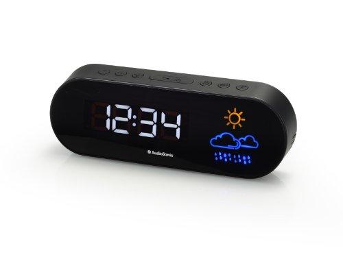 Smartwares CL-1489 Wecker – Doppelalarm – UKW-Radio – Wettervorhersage