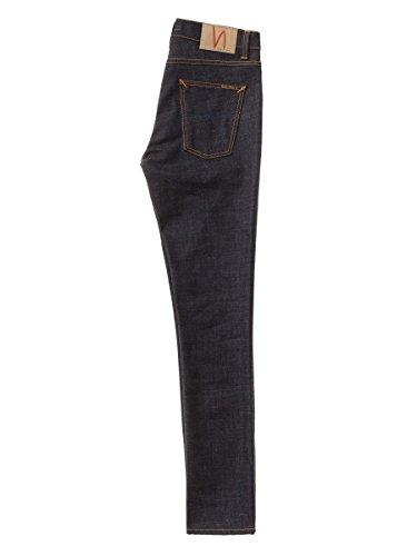 Nudie Jeans Lean Dean, Jeans Homme Bleu (Dry Slow Dark)