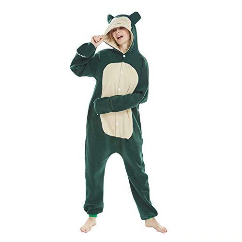 Amooy DiZi Déguisement Combinaison Animaux Pyjama - Adulete en Laine Unisexe Cosplay Costume avec...