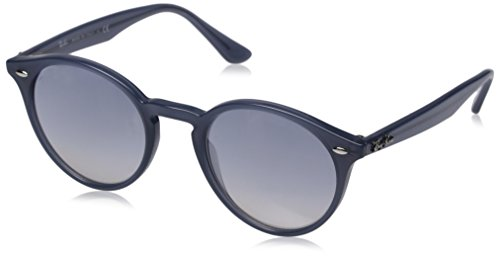Ray-ban rb 2180, occhiali da sole unisex-adulto, blu (blue), 49 centimeters