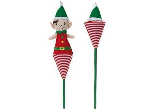 45cm Pop Up Elf On Stick - Elf Toys - Stocking Fillers - Elves Behaving Badly