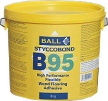 F Ball B95 High Performance Flexible Wood Flooring Adhesive 15kg by F Ball