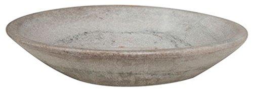 Biscottini Assiette Décorative en marbre L24xPR24xH6 cm