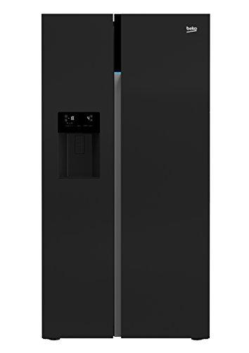 Beko GN162333ZGB Side-by-Side Kühlschrank / A++ / 179 cm / 368 L Kühlteil / 176 L Gefrierteil / No Frost / LED-Innenbeleuchtung / Touchscreen / Wasserspender