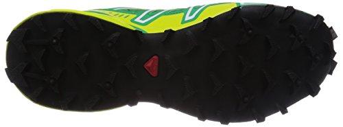 Salomon Speedcross 3 Gtx, Calzado Deportivo, Hombre Real Green / Gecko Gree