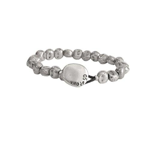 Imagen de uno de 50 mujer chapado en plata pulsera cuerda pul0109met x