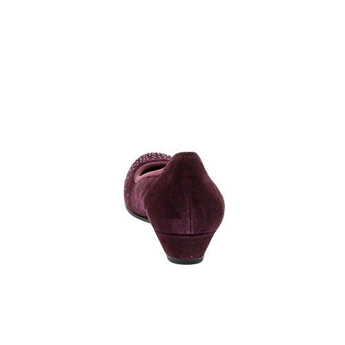 Gabor Damen Comfort Sport Geschlossene Ballerinas Rot (48 New Merlot)