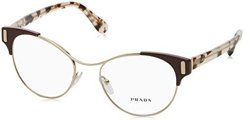Prada - PRADA MOD EVOLUTION PR 61TV, Schmetterling, Metall, Damenbrillen, AMARANTH(VAX-1O1),...