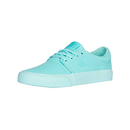 DC Shoes Trase Tx, Baskets mode femme, Bleu - Aqua, 4 UK