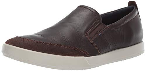 Ecco Herren Collin 2.0 Slip on Sneaker, Braun (Coffee 51869), 44 EU Ecco Sneakers Slip