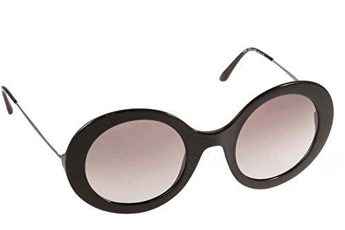 ARMANI AR8068, Occhiali da Sole Donna, Nero (Black with Greygradient Lens), Taglia Unica (Taglia Produttore: One