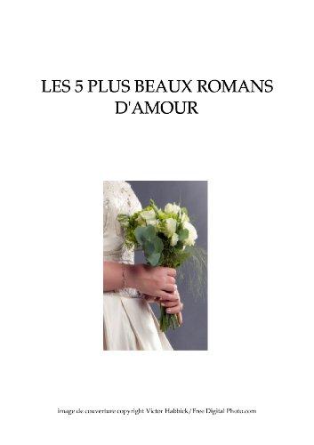 Couverture du livre Les 5 plus beaux romans d'amour