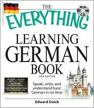 The Everything Learning German Book 2nd (second) edition Text Only