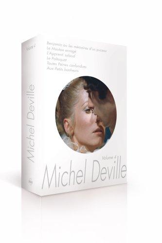 Coffret Michel Deville Volume 4 (Benjamin / Le Mouton enragé / L'Apprenti salaud / Le Paltoquet / Toutes peines confondues / Aux petits bonheurs) [Edizione: Francia]