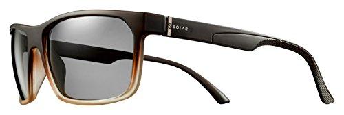 Solar Zappa Sonnenbrille Unisex Erwachsene, Braun Preisvergleich