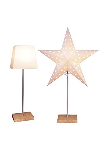 """Bestseason Stehlampe\""""Combi-Pack\"""" beige 52,5 x 20 cm"""