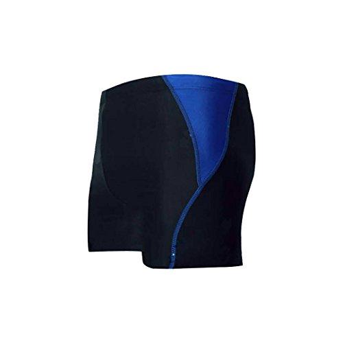 WSNH888 Racing Schwimmen Badehose Herren Badeshorts Sport Short Klassische Herren Bademode Hosen,Blue,XXL