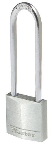 Master Lock 9130EURDLJ Aluminium Vorhängeschloss 30 mm mit hohem Bügel