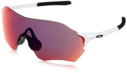Oakley Herren Evzero Range 932710 38 Sonnenbrille, Weiß (Matte White/Prizmroad),
