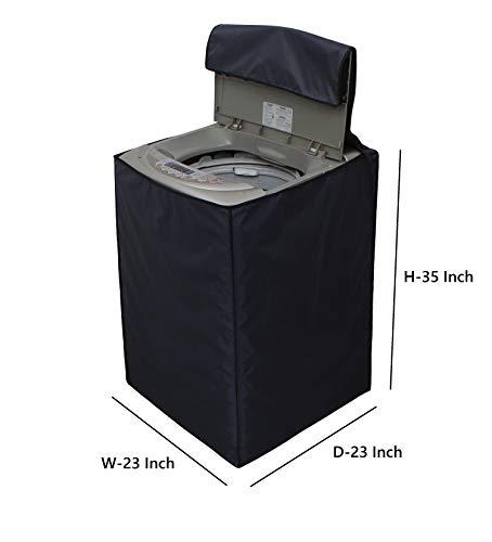 Dream Care Top Load Washing Machine Cover Suitable for 6 kg, 6.2 Kg, 6.5 Kg, 7 Kg  58cms X 58cms X 88cms