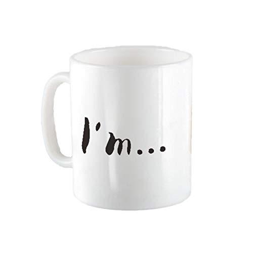 Goldyqin Kreatives lustiges Schwein-Nasen-Becherschalen-nettes keramisches Kennzeichen-Getränkelachen-Tee-Kaffeetassen Freunde - Weiß (Nettes Schwein Nase)