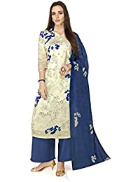 cbb45d8dfe Amazon.in: Whites - Dress Material / Ethnic Wear: Clothing & Accessories