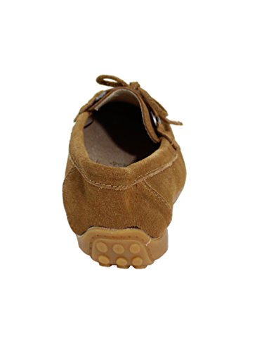 By Shoes Mocassini Donna Camel