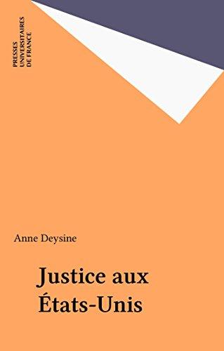 Justice aux États-Unis