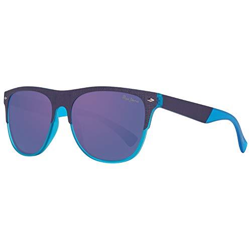 Pepe Jeans Herren PJ7295C356 Sonnenbrille, Blau (Blue), 56