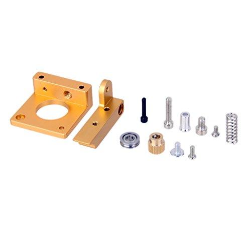 3d Drucker Drucker MK8 Extruder Aluminiumrahmen Block Kit Left Hand oder Right Hand - Right Hand , onesize Hand-druckmaschine