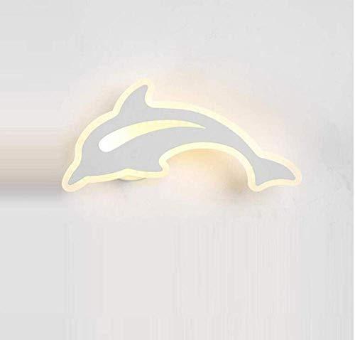Deckenleuchten Lampen Kronleuchter Pendelleuchten Dolphin Wandleuchte Bett Schlafzimmer Einfache Moderne Zeitgenössische Kreative Persönlichkeit Gang Flur Treppenlicht Wandbeleuchtung Kinder Kinderzi