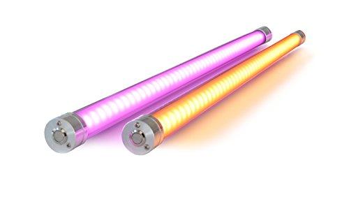 LUME-1 pro 2er Set kabellose Akku Sonnenschirmbeleuchtung