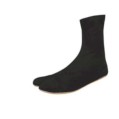 7 Taiko Jikatabi scarpe, - la clip direttamente dal Giappone (Marugo) Nero (nero)