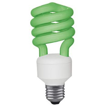 Paulmann 88043 (880.43) Energiesparlampe Spirale 15W grün E27 Auslaufartikel -