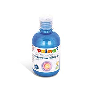 PRIMO 233tm300500 - temperafarbe, 300 ML, Metallic/Azul